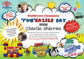 'Fun'Raiser Day - Gullivers Coomera - Sat 1st Jul 2017